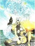 "Siren's Drum, ""Heritage"" series, cop. Heshima Denham"